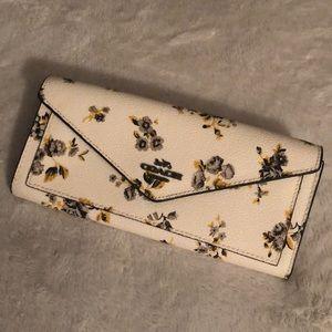 Coach Envelope Wallet Prairie Print Floral